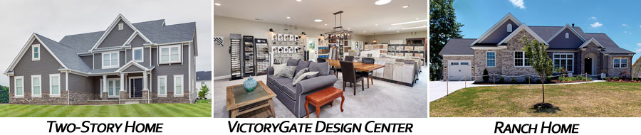Two-Story Homes, Ranch Homes, Victory-Gate Design Center