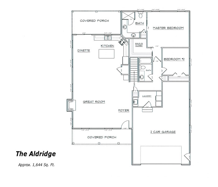 The Aldridge Floor Plan
