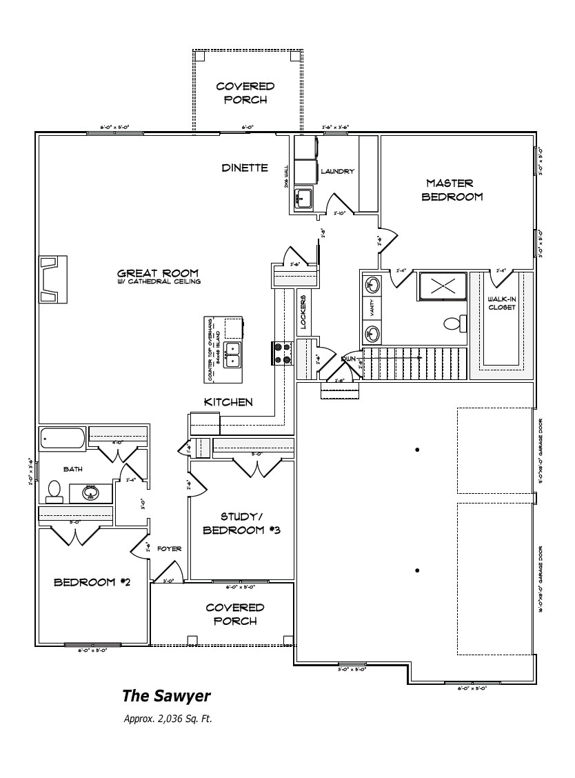 The Sawyer Floor Plan