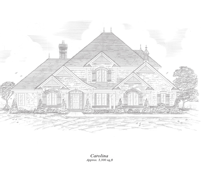 Carolina Two-Story Home