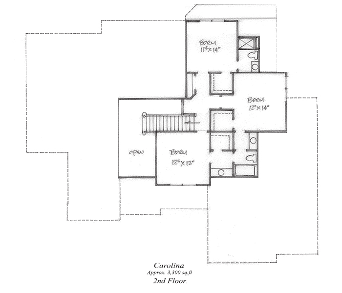 Carolina Floor Plan