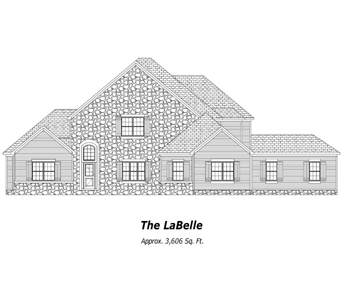 The LaBelle Two-Story Home
