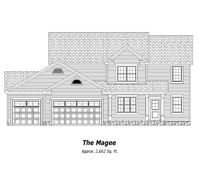 The Magee Two-Story Home
