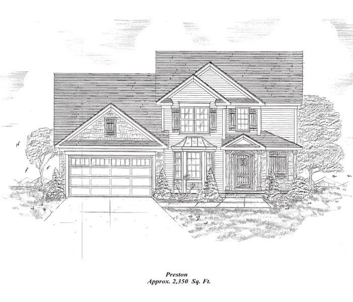 Preston Two-Story Home